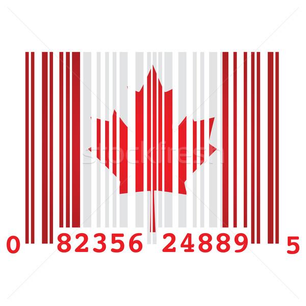Canada bar code Stock photo © bruno1998