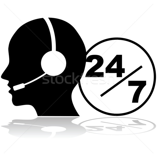 Support 24/7 Stock photo © bruno1998