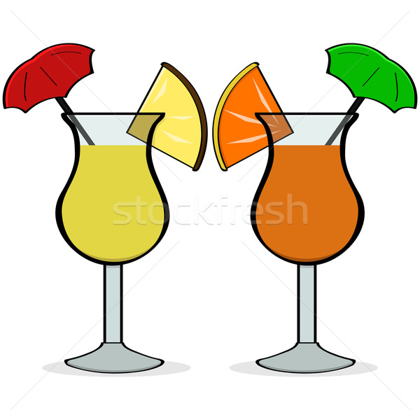 Umbrella drinks Stock photo © bruno1998