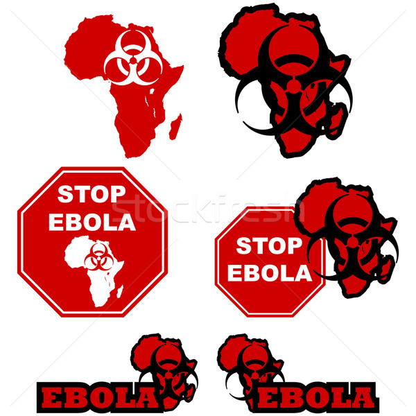Stop ebola Stock photo © bruno1998