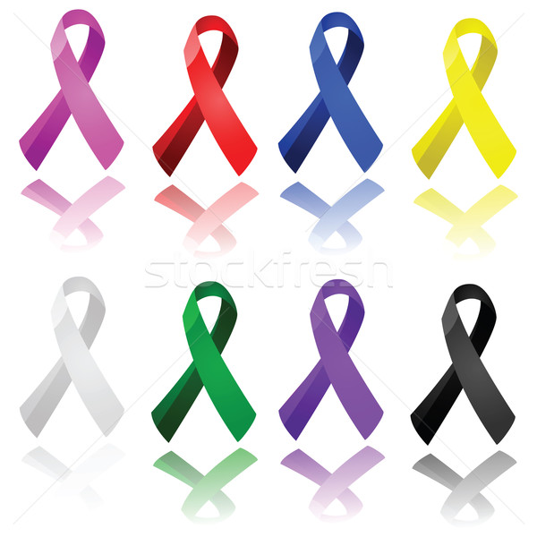 Awareness ribbons Stock photo © bruno1998