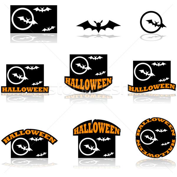Halloween bat Stock photo © bruno1998