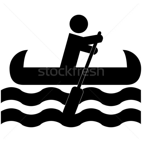 Canoe Stock photo © bruno1998