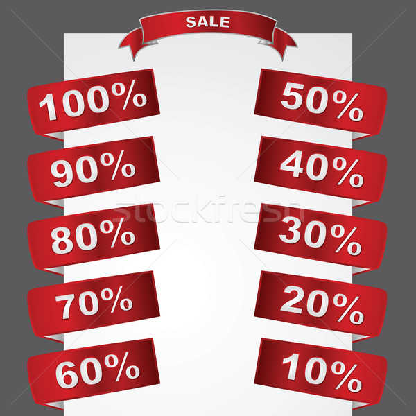 Sale tags Stock photo © bruno1998