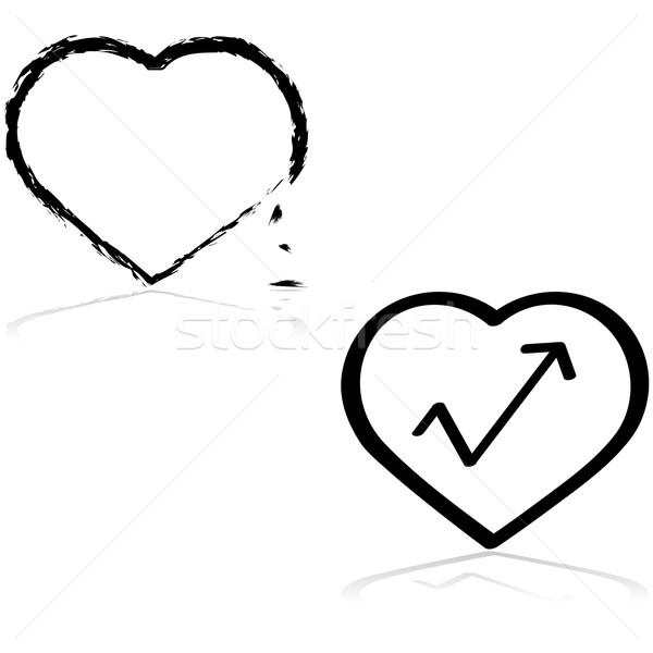 Fixing a heart Stock photo © bruno1998