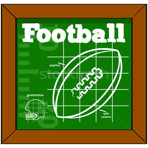 Football lesson Stock photo © bruno1998