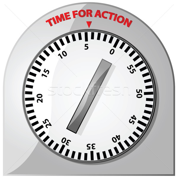 Time for action Stock photo © bruno1998