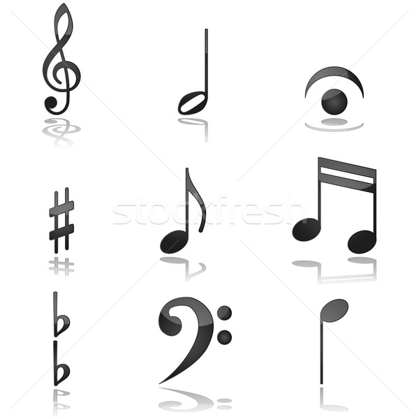 Musical notes Stock photo © bruno1998