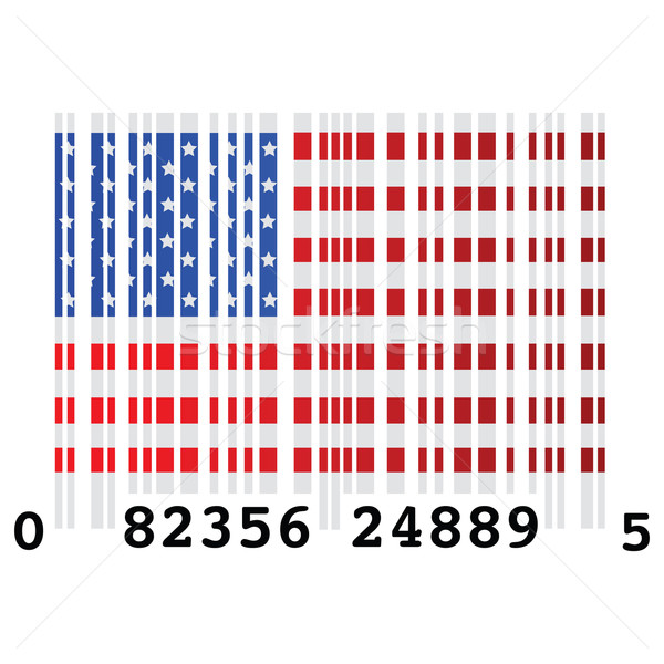USA bar code Stock photo © bruno1998