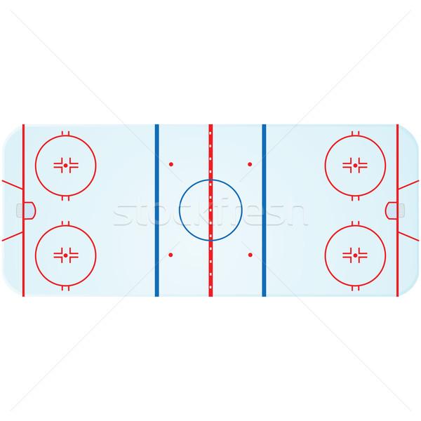 Hockey rink Stock photo © bruno1998