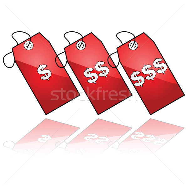 Price tags Stock photo © bruno1998