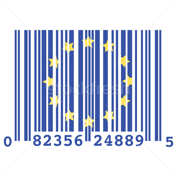 Europe bar code Stock photo © bruno1998