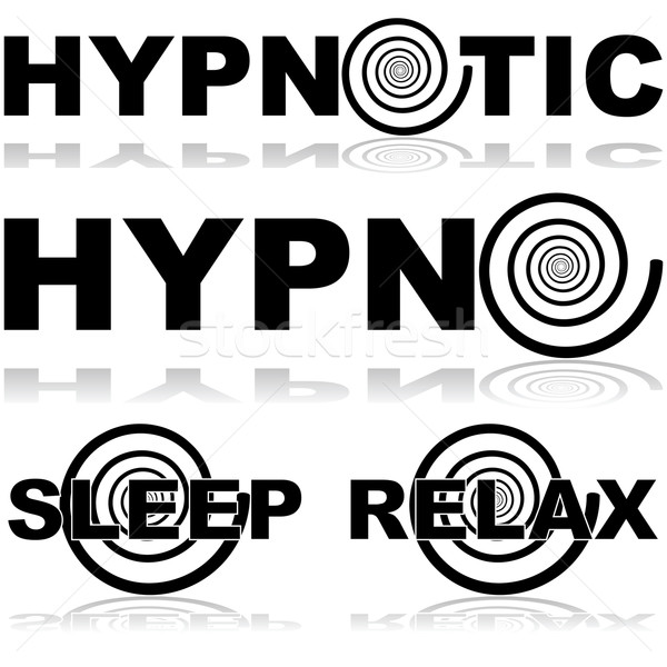 Hypnotic icons Stock photo © bruno1998