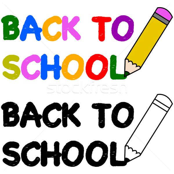 Back to school Stock photo © bruno1998