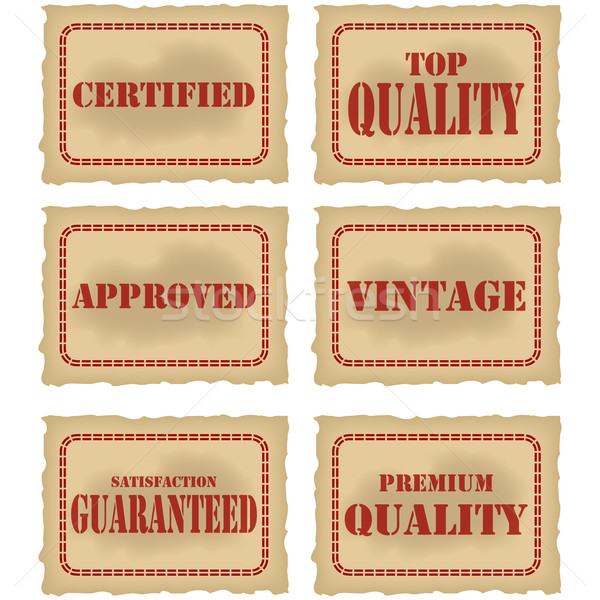 Product seals Stock photo © bruno1998