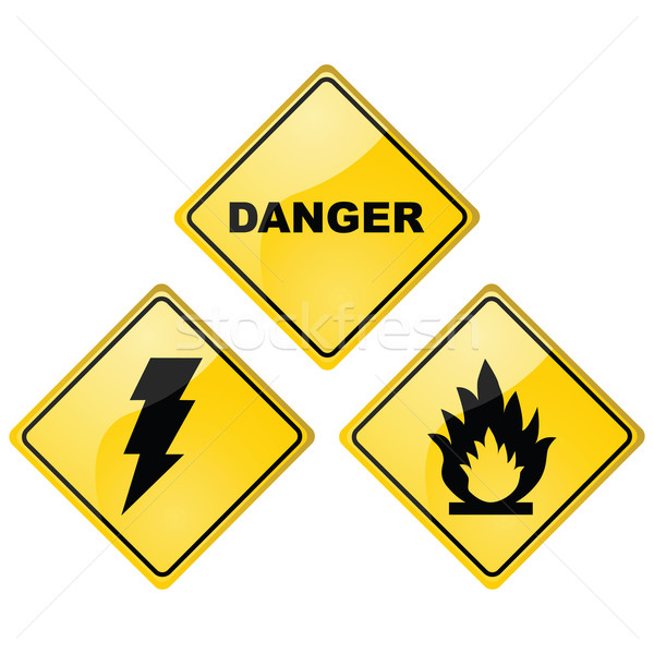 Danger signs Stock photo © bruno1998