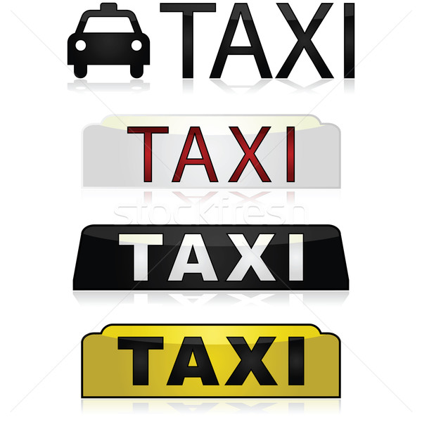 Taxi signs Stock photo © bruno1998