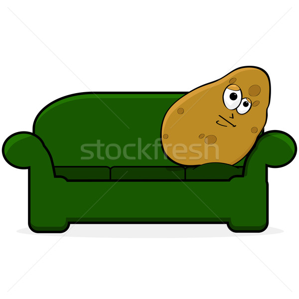 Couch potato Stock photo © bruno1998