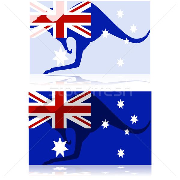 Australian kangaroo Stock photo © bruno1998