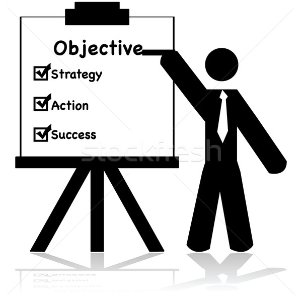 Business objectives Stock photo © bruno1998