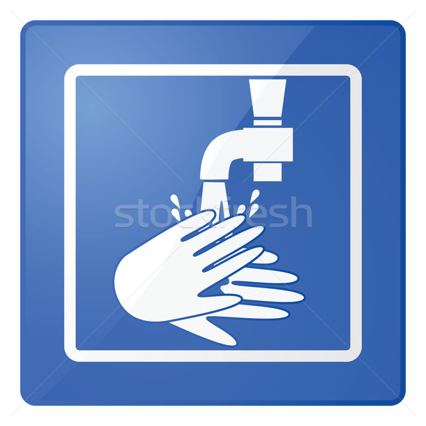 Wash hands sign Stock photo © bruno1998