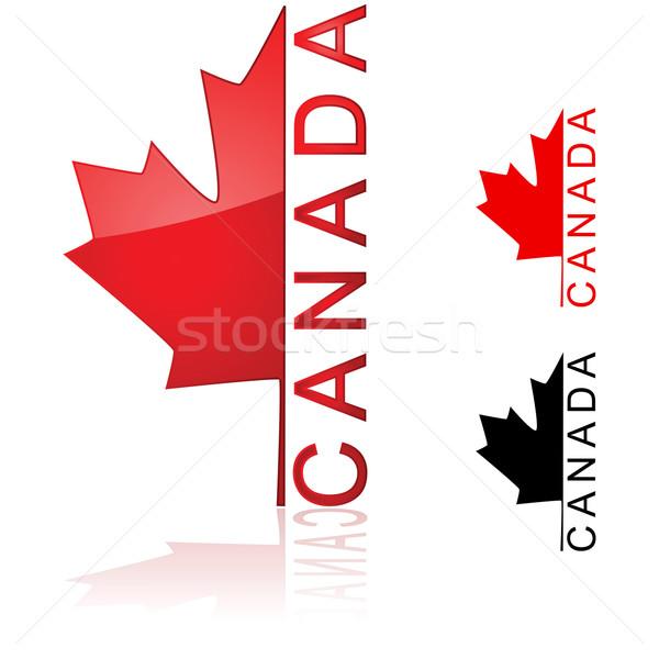 Canadian icon Stock photo © bruno1998