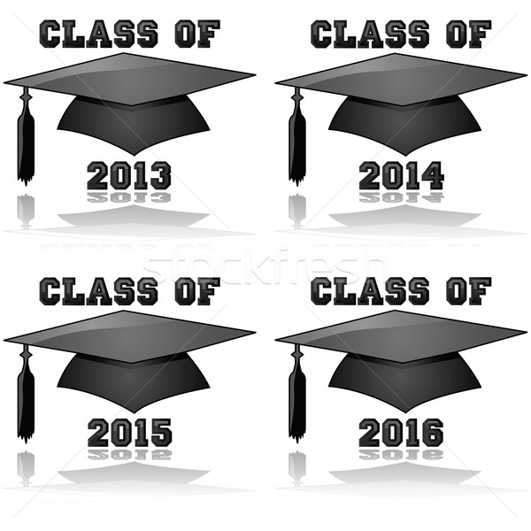 Class of 2013 to 2016 Stock photo © bruno1998