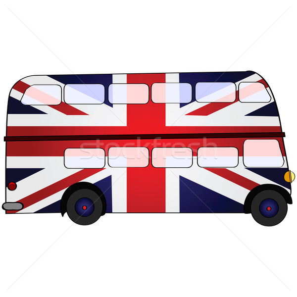 UK double deck bus Stock photo © bruno1998