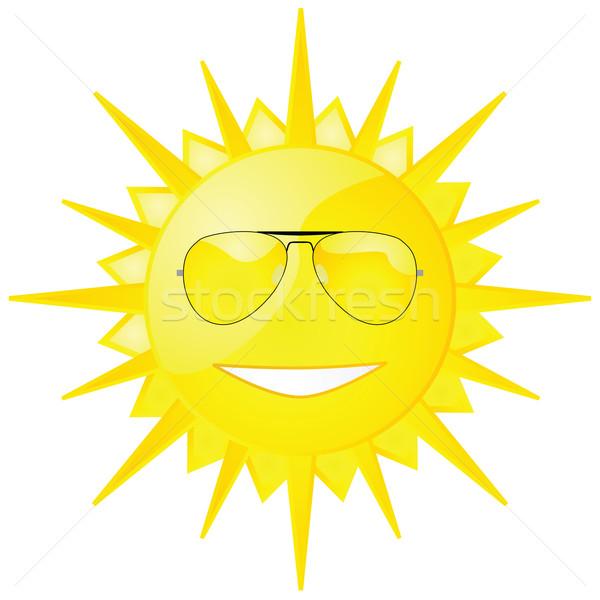 Sun with shades Stock photo © bruno1998