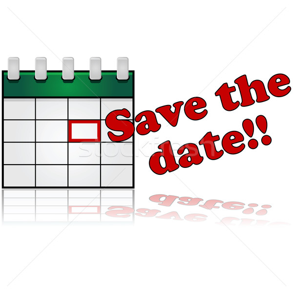 Save the date Stock photo © bruno1998