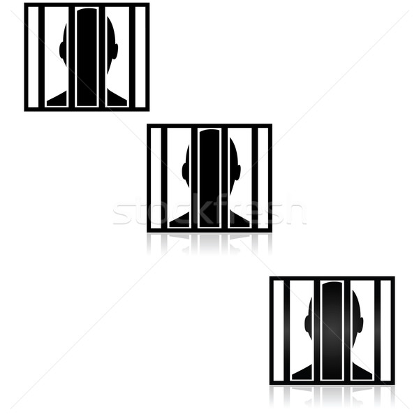 Behind bars Stock photo © bruno1998