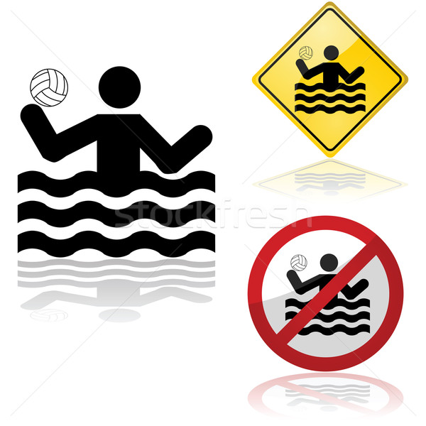 Water polo signs Stock photo © bruno1998