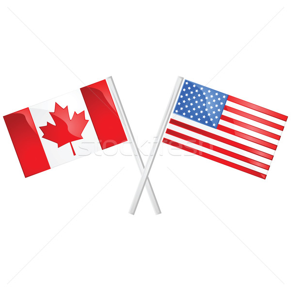 Canada and USA Stock photo © bruno1998