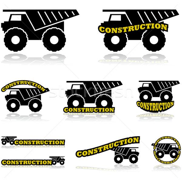 Construction icons Stock photo © bruno1998