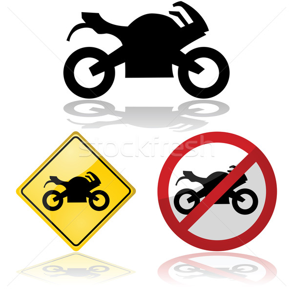 Motorcycle signs Stock photo © bruno1998