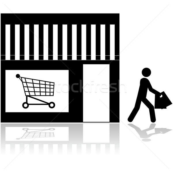 Store icon Stock photo © bruno1998