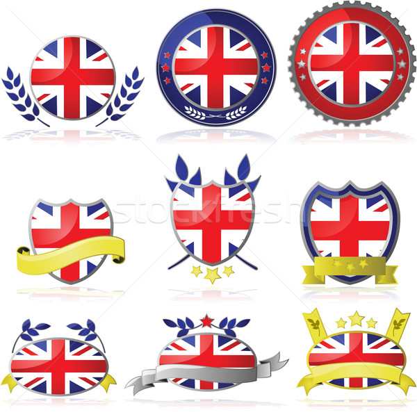 United Kingdom badges Stock photo © bruno1998