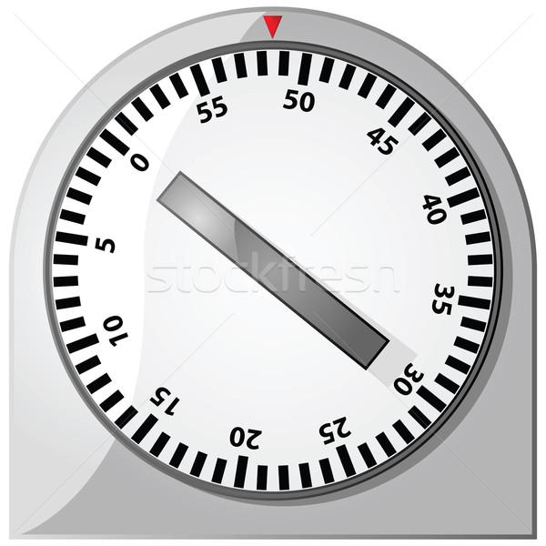 Időzítő fényes illusztráció analóg idő verseny Stock fotó © bruno1998