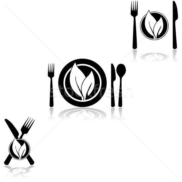 Vegetarian cuisine Stock photo © bruno1998