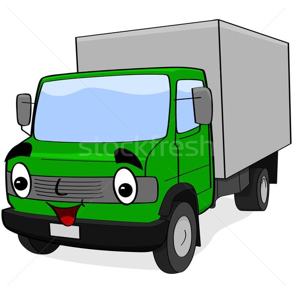 Cartoon truck Stock photo © bruno1998