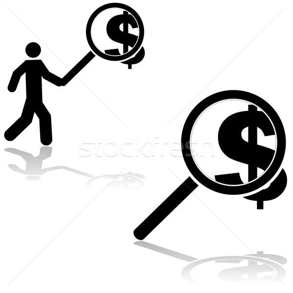 Searching for money Stock photo © bruno1998
