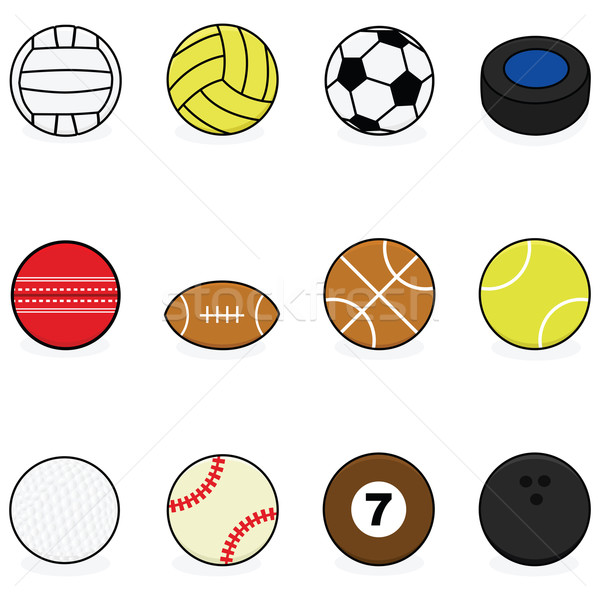 Sports balls Stock photo © bruno1998