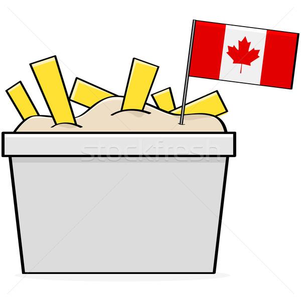 Canadian poutine Stock photo © bruno1998