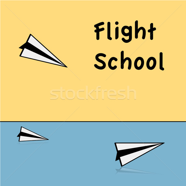 Flight school Stock photo © bruno1998