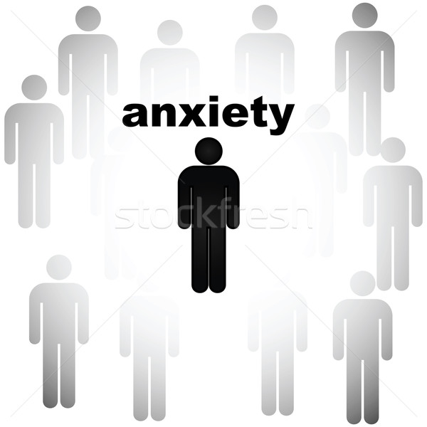 Anxiety Stock photo © bruno1998
