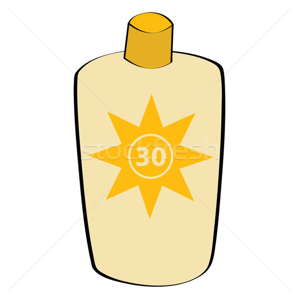 Sunscreen lotion Stock photo © bruno1998