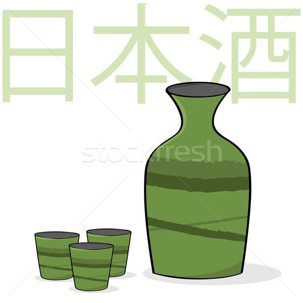 Sake Stock photo © bruno1998