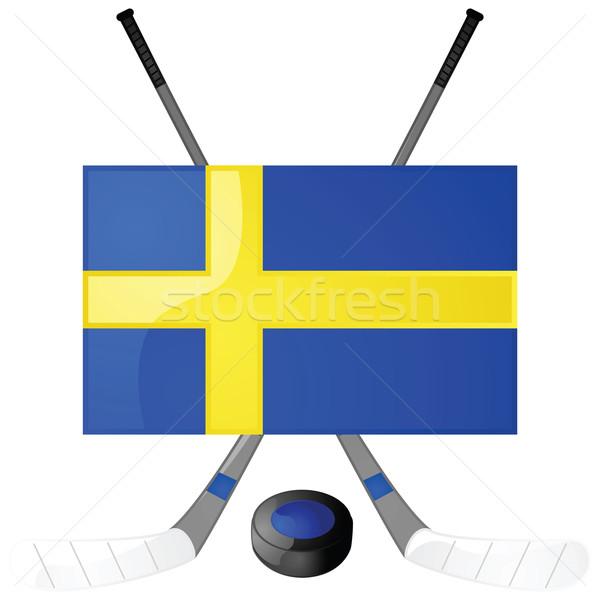 Swedish hockey Stock photo © bruno1998