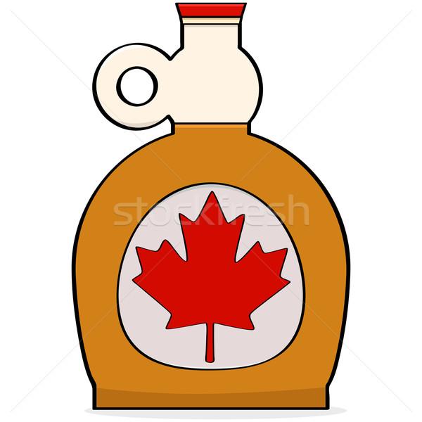 Bordo xarope desenho animado ilustração garrafa Foto stock © bruno1998
