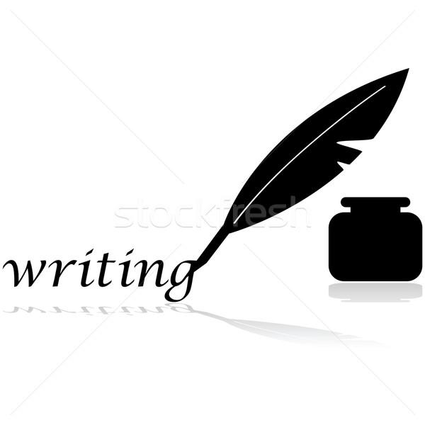 Feather pen Stock photo © bruno1998